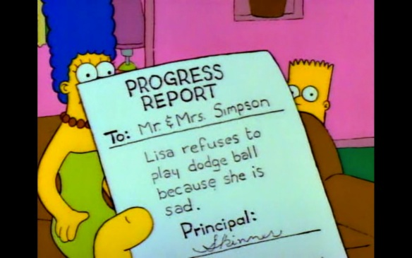 Lisa depressed