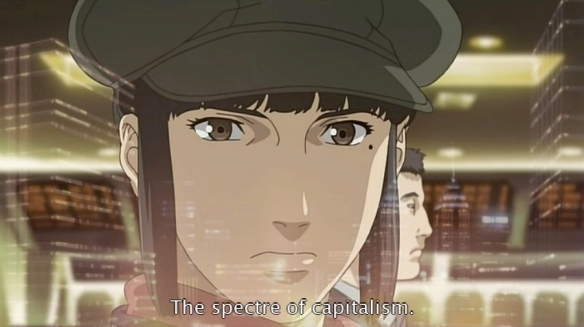 Spectre of capitalism (Ghost in the Shell)